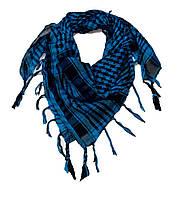 Платок-арафатка Куфия с кистями АR-036 голубой