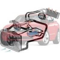 Система охлаждения Ford Mustang Форд Мустанг 2005-2009