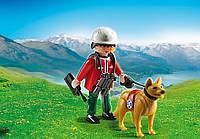 Конструктор Playmobil 5431 Спасатель с собакой, фото 1