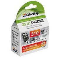 Картридж для Canon PG-510 black   (ColorWay CW-CPG510)