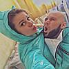 Куртка демисезонная 3в1: беременность, слингоношение, обычная куртка ( фото нашей клиентки)