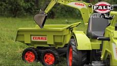 Трактор Педальный с Прицепом и двумя Ковшами Falk 1010W, фото 3