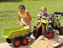 Педальний Трактор з Причепом і двома Ковшами Falk 1010W, фото 3