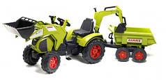 Педальний Трактор з Причепом і двома Ковшами Falk 1010W