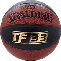 Мяч баскетбольный PU №7 SPALDING 74489Z TF-33 IO SZ7 COMP