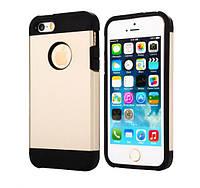 Противоударный бампер Spigen для Apple iPhone 4 / 4s Gold