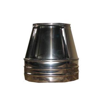 Конус термо ø 100/200 0.5 мм нержавійка/нержавійка