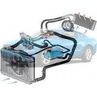 Система охлаждения Ford Mustang Форд Мустанг 2010-2012