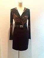 Платье Roberto Cavalli с длинным рукавом