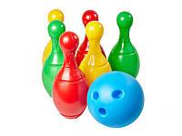 Іграшка пласмасова Набір для гри в боулінг Технок 2780