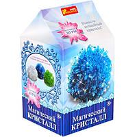 """Набор для опытов 0271 """"Магический кристалл. Синий"""" 12138012Р Ranok Creative"""