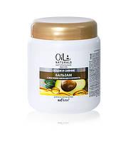 Oil Naturals Бальзам с маслами АВОКАДО и КУНЖУТА Объем и Сияние 450 мл.