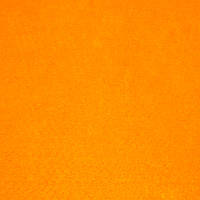 Фетр жесткий 1 мм, полиэстер, ЯРКО-ОРАНЖЕВЫЙ, 1 х 0.82 м, на метраж