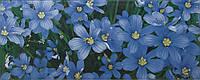 Плитка Атем настенная облицовочная Atem Yalta Flower BL 200х500 желтая