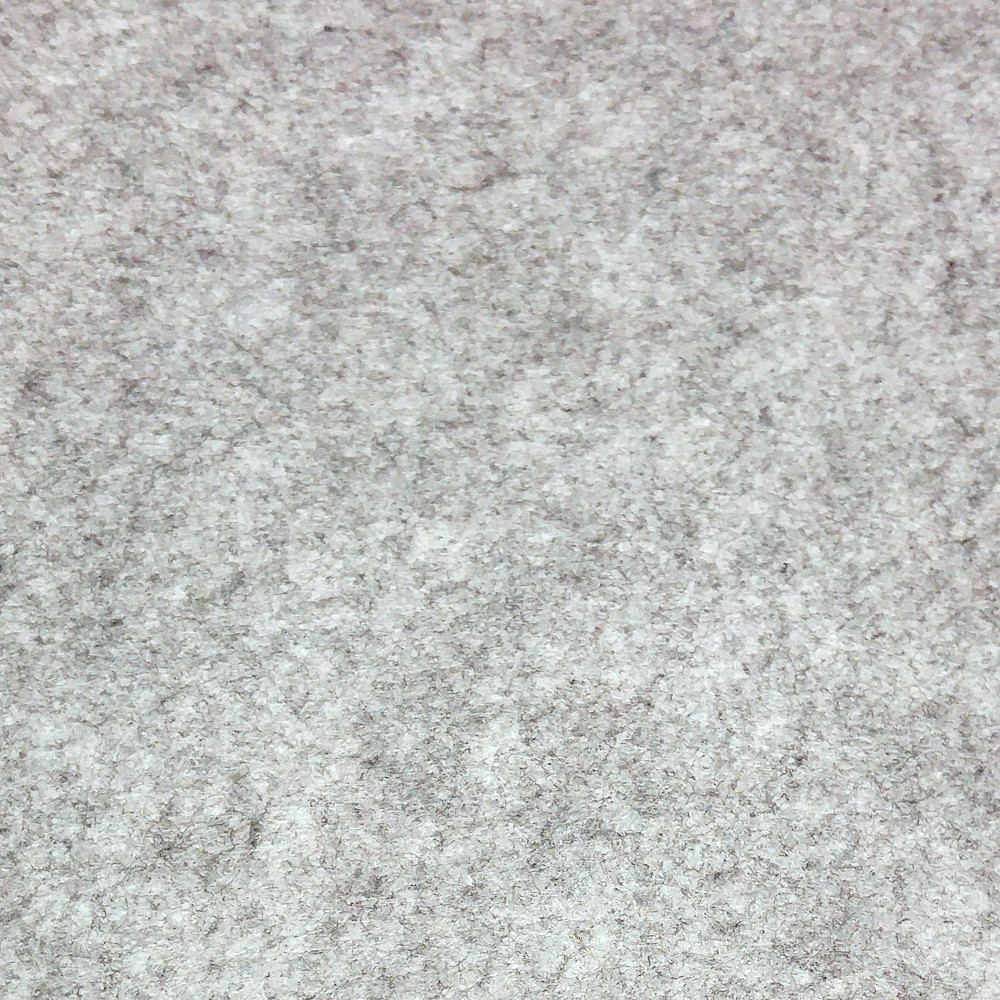 Фетр жесткий 1 мм, полиэстер, СЕРЫЙ МЕЛАНЖ, 1 х 0.82 м, на метраж