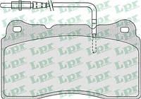 Комплект тормозных колодок дисковый тормоз  LPR 05P863 Peugeot 607 807 3.0 AV WVA (23092)