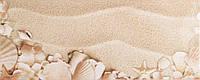 Плитка Атем Ялта настенная облицовочная Atem Yalta 1 Seashells 200х500 белая