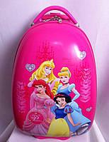 "Детский чемодан Princess 16"" на колесах"