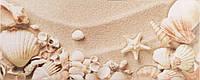 Плитка Атем Ялта настенная облицовочная Atem Yalta 2 Seashells 200х500 белая