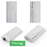Внешний аккумулятор Bilitong Y023 Power Bank 5600 mAh с фонариком (белый)