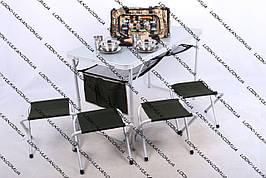 Стол и стулья (складной комплект) Ranger TA-21407+FS-21124 RA1102