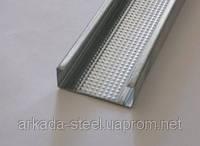 Профиль для гипсокартонных конструкций CDполегш. (CD-47) 4 м.п. - Оцинкованный, толщина 0,36