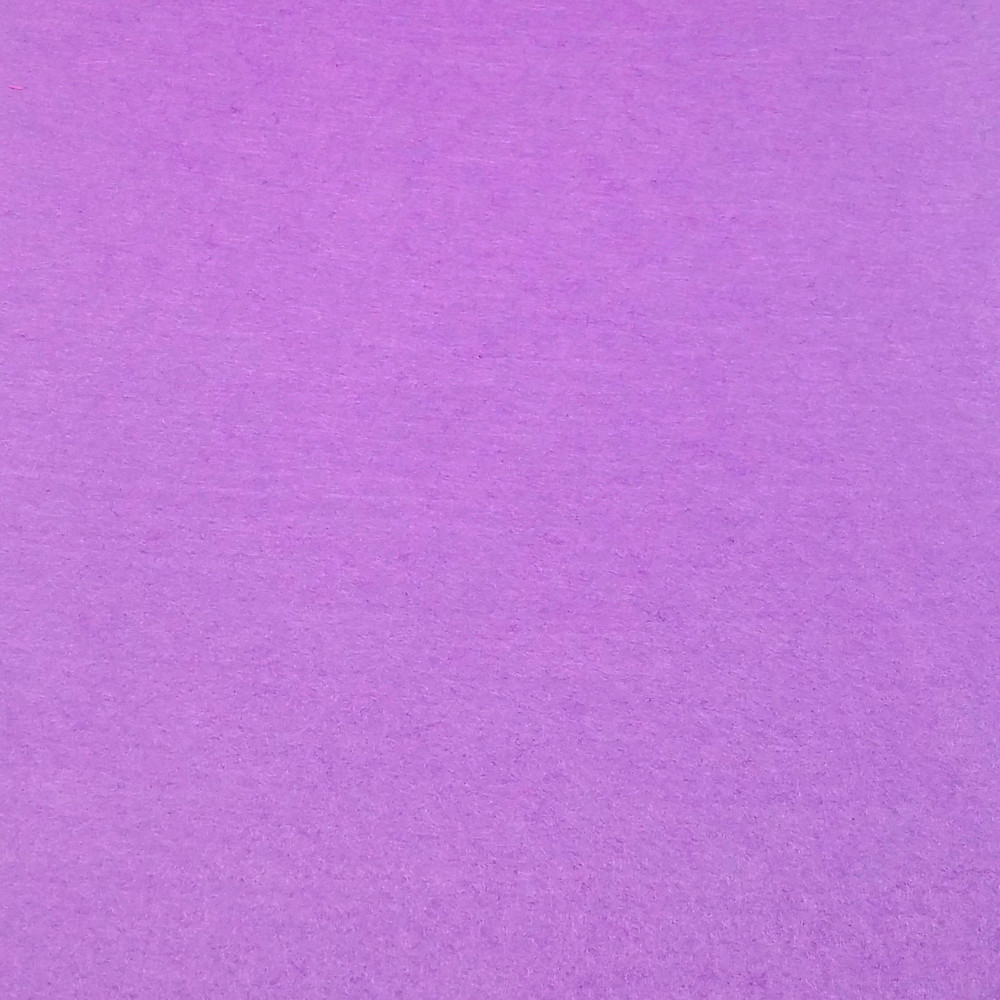 Фетр жесткий 2 мм, 50x33 см, СИРЕНЕВЫЙ