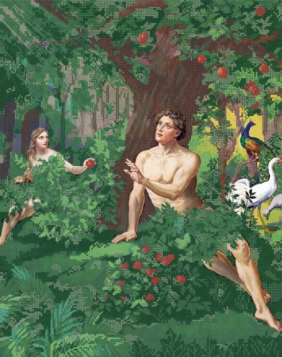 картинки ева в эдемском саду ссать босиком