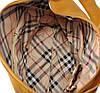Женская кожаная сумка 3051 желтая, фото 5