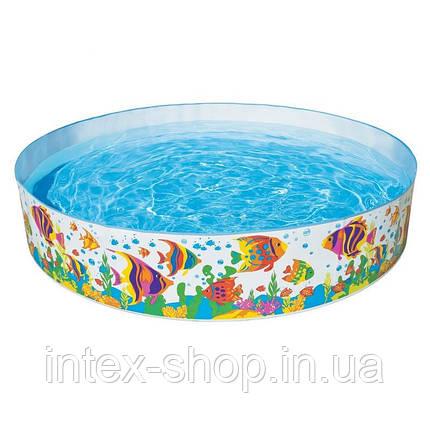 Каркасный бассейн с жесткими бортами Океанский риф Ocean Reef Snapset, 56453, фото 2
