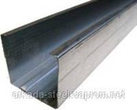 Купить Профиль гипсокартонный C-50-03 (CW-50-03) 3 м.п. - Оцинкованный, толщина 0,50