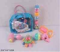 Набор уникальных погремушек для малышей в сумочке
