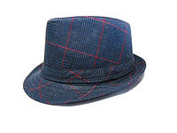 Шляпа Челентанка (Grey & Blue)