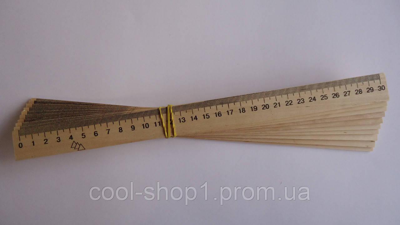 3fecd41ecf4637 Линейка деревянная 30см для черчения,Мицар,шолкография.Лінійка дерево 30см  для креслення,