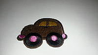 Машинка коричневого цвета