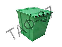 Бак ТБО 0,75 м.куб. металл 1,2 мм + крышка + покраска, фото 1