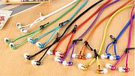Наушники на молнии Zipper Earphones разные цвета