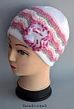 Ажурная шапка для девочки , фото 6