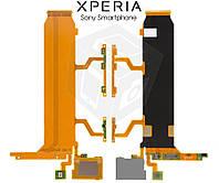 Шлейф для Sony Xperia Z Ultra C6802/C6806/C6833, межплатный, звонка, боковых клавиш, микрофона (оригинальный)