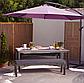 Скамейка Grace Classic Bench - Charcoal & Grey., фото 4