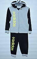 Спортивний  костюм   для хлопчика 1-5 років  Adidas чорний