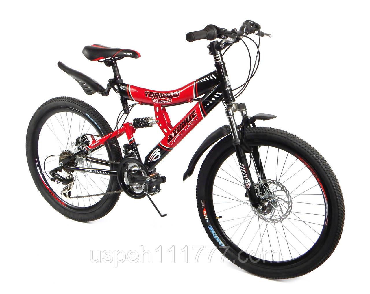 """Горный велосипед Azimut Tornado 24"""" GD"""