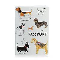 Обложка для паспорта «Собаки», фото 1