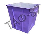 Бак ТБО 0,75 м.куб. металл 1,2 мм + покраска, фото 1