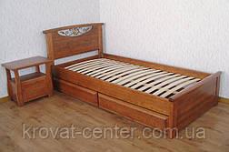 """Кровать односпальная из натурального дерева """"Фантазия"""" от производителя, фото 3"""
