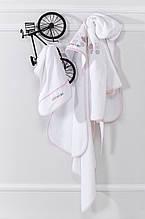 Детский набор для ванной CATS халатик, уголок,рукавица