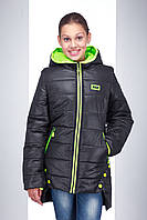 Молодёжная стильная куртка весна 2017 S 515
