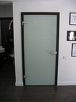 Двери Verto Гласфорд 1 цвет дуб темный «Резист»