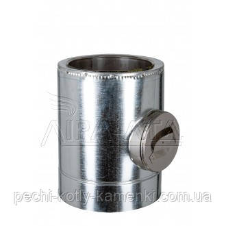 Ревизия дымоходная термо 0,5 мм н/оц AISI 304
