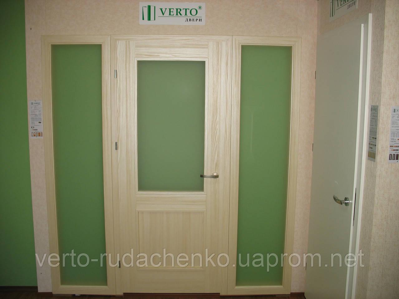 Фрамуга к дверям Verto в цвете ясень «Резист»